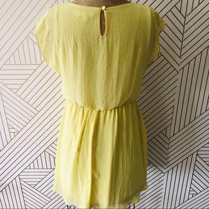 Lush Canary Yellow Dress, S